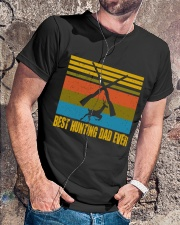 Best Hunting Dad Ever Classic T-Shirt lifestyle-mens-crewneck-front-4