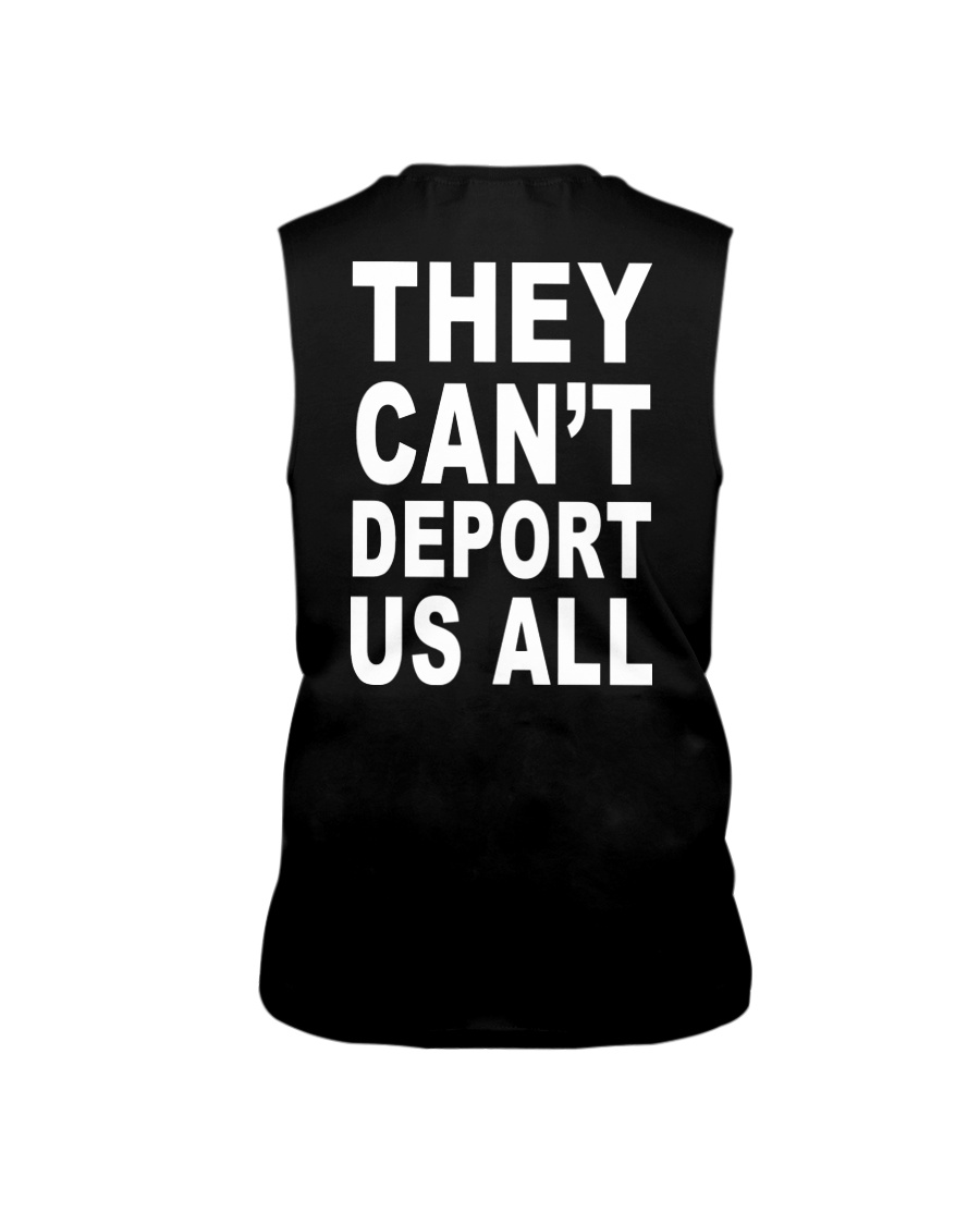 They Can't Depart US ALL Sleeveless Tee