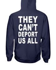 They Can't Depart US ALL Hooded Sweatshirt back