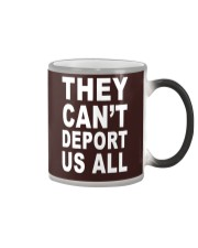 They Can't Depart US ALL Color Changing Mug tile
