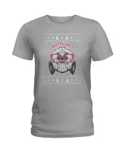 Xmax-Shihtzu Ladies T-Shirt thumbnail