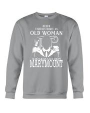 Old-Woman-Marymount Crewneck Sweatshirt thumbnail