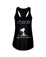 My God Is Bigger Than Arthritis Ladies Flowy Tank thumbnail