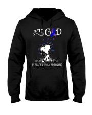 My God Is Bigger Than Arthritis Hooded Sweatshirt thumbnail