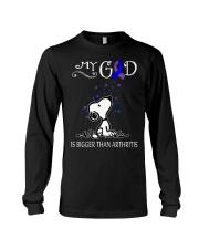 My God Is Bigger Than Arthritis Long Sleeve Tee thumbnail