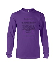 Fibromyalgia Awareness Long Sleeve Tee thumbnail