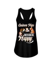 Guinea Pigs Make Me Happy Ladies Flowy Tank thumbnail