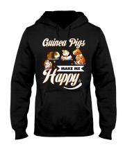 Guinea Pigs Make Me Happy Hooded Sweatshirt thumbnail