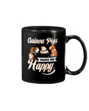 Guinea Pigs Make Me Happy Mug thumbnail