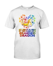 Bearded Dragon In My Heart Classic T-Shirt front