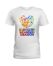 Bearded Dragon In My Heart Ladies T-Shirt thumbnail