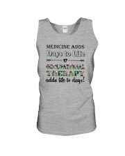 Occupational Therapy Add Life To Days Unisex Tank tile
