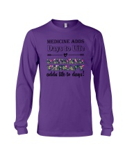 Occupational Therapy Add Life To Days Long Sleeve Tee tile