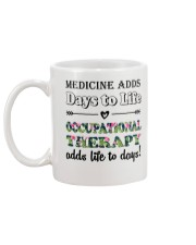 Occupational Therapy Add Life To Days Mug back