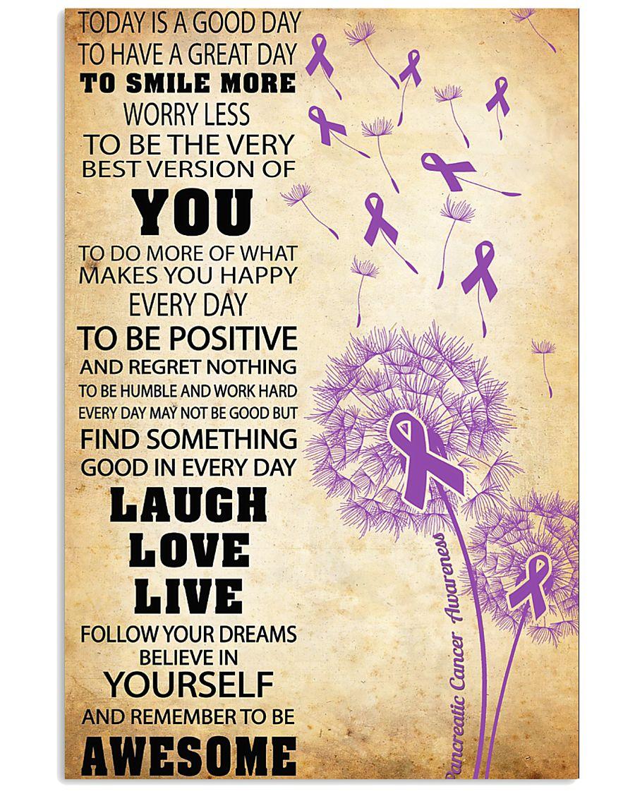 Pancreatic Cancer Awareness 11x17 Poster