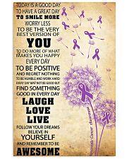 Pancreatic Cancer Awareness 11x17 Poster front