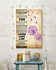 Pancreatic Cancer Awareness 11x17 Poster lifestyle-holiday-poster-3
