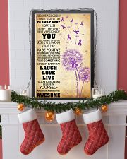 Pancreatic Cancer Awareness 11x17 Poster lifestyle-holiday-poster-4