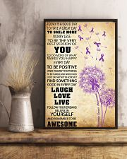 Pancreatic Cancer Awareness 11x17 Poster lifestyle-poster-3