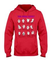 The Fibro Bunny Hooded Sweatshirt thumbnail