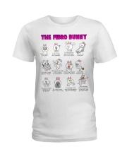 The Fibro Bunny Ladies T-Shirt thumbnail