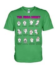 The Fibro Bunny V-Neck T-Shirt thumbnail