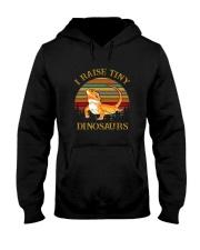 I Raise Tiny Dinosaurs Hooded Sweatshirt thumbnail