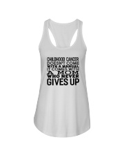 For Childhood Cancer Moms Ladies Flowy Tank thumbnail