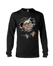 Sloth Scratch Long Sleeve Tee front
