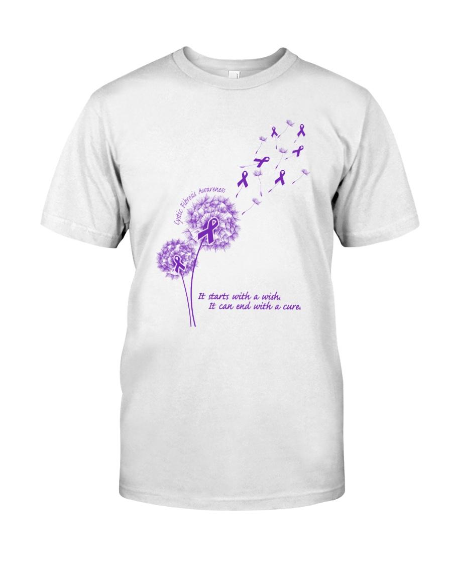 Cystic Fibrosis Awareness Classic T-Shirt