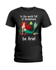 Be Mermaid Ladies T-Shirt front