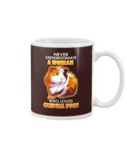 Never Underestimate A Woman Who Loves Guinea Pigs Mug thumbnail