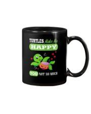Turtles Make Me Happy Mug front