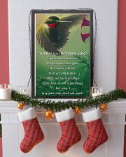 Advice From A Hummingbird 11x17 Poster lifestyle-holiday-poster-4