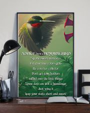 Advice From A Hummingbird 11x17 Poster lifestyle-poster-2