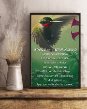 Advice From A Hummingbird 11x17 Poster lifestyle-poster-3