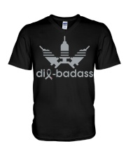 Diabadass V-Neck T-Shirt tile