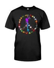 Peace Love And Mermaid Classic T-Shirt thumbnail