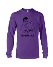 Crohns And Colitis Warrior Long Sleeve Tee tile