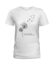 Diabetes Areness Ladies T-Shirt thumbnail