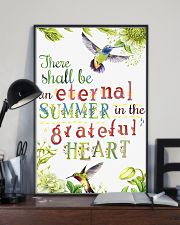 For Hummingbird Lovers 11x17 Poster lifestyle-poster-2