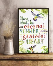 For Hummingbird Lovers 11x17 Poster lifestyle-poster-3