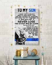 To My Son-Love Dad 11x17 Poster lifestyle-holiday-poster-3