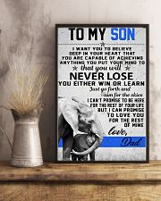 To My Son-Love Dad 11x17 Poster lifestyle-poster-3
