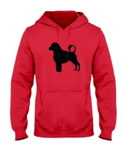 PWD Black Silhouette Collection Hooded Sweatshirt tile