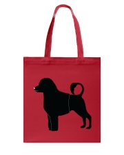 PWD Black Silhouette Collection Tote Bag thumbnail