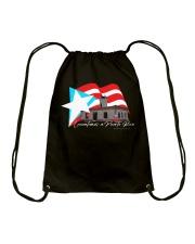 Levantemos a Puerto Rico Edicicion Faro de Guanica Drawstring Bag thumbnail