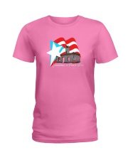 Levantemos a Puerto Rico Edicicion Faro de Guanica Ladies T-Shirt front
