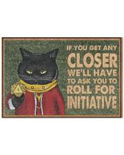 """If I Get Any Closer Doormat 22.5"""" x 15""""  front"""
