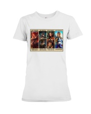 Party of Four Women Be Strong Premium Fit Ladies Tee tile